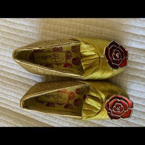 Princess belle dress up shoes